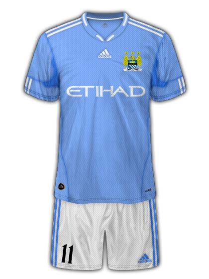 Man City Adidas Home Kit