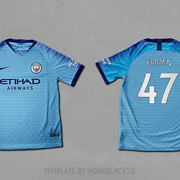 Man City Nike home concept