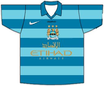 Man City 2013/14 Home Shirt