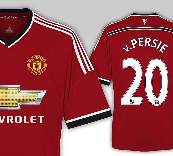 Man United 15/16 Adidas Kit