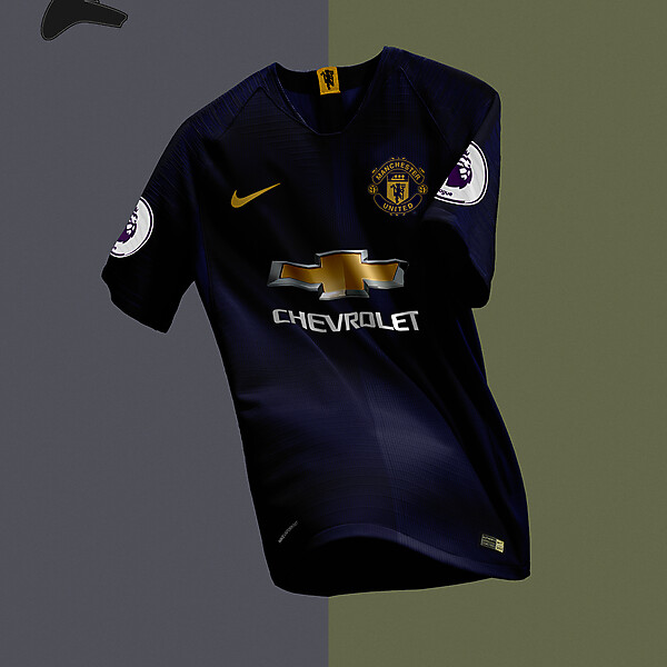 Man United x Nike away