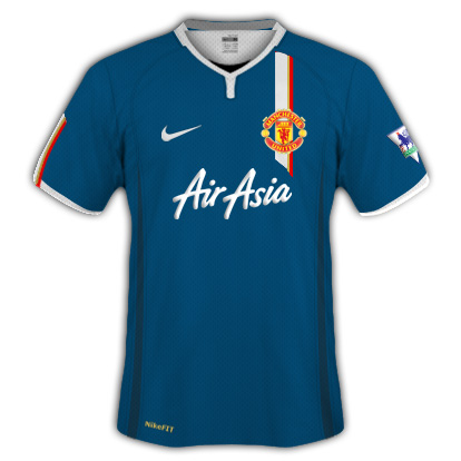 Man Utd 09/10 Away