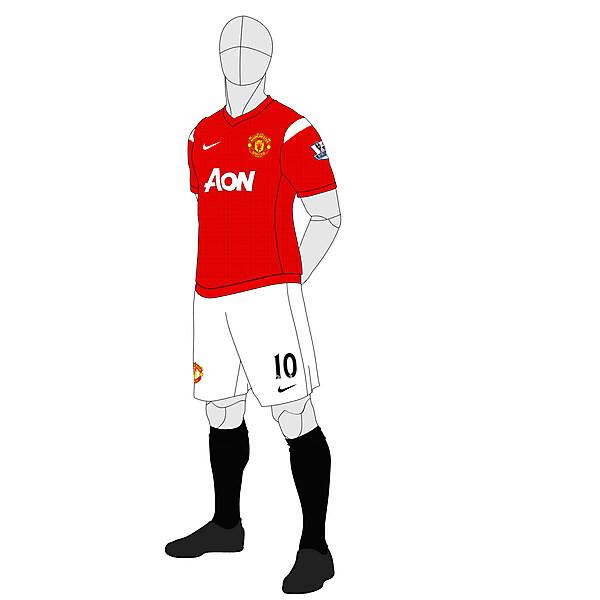 Man Utd Home 2013