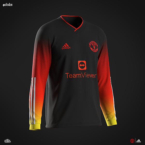 Man Utd X adidas - Flames of hell