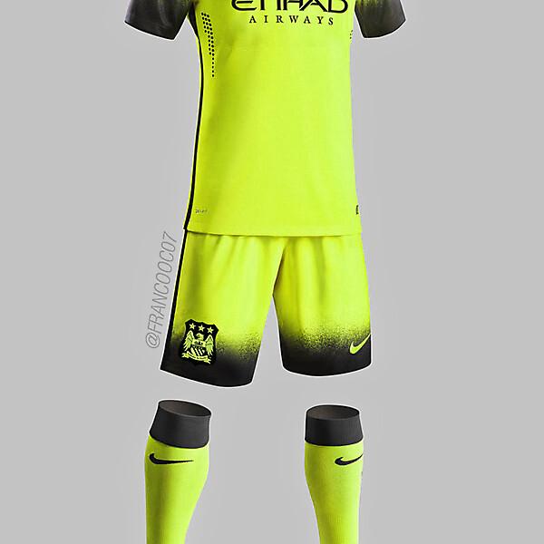 Manchester City - Third 15/16