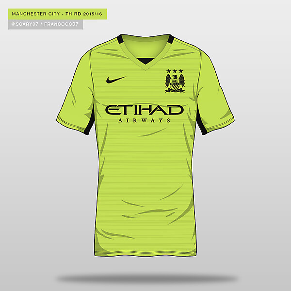 MANCHESTER CITY - THIRD 2015/16 (POSIBLE)