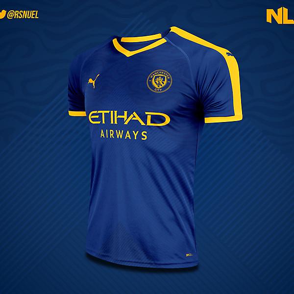 Manchester City - Third Kit Concept