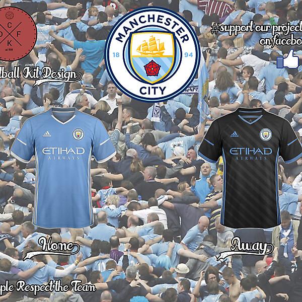 Manchester City Adidas Concept 2016/2017