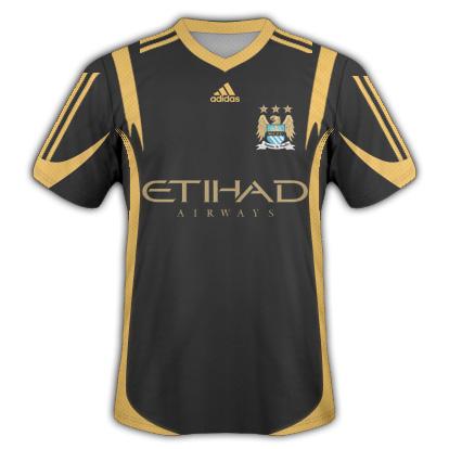 Manchester City Away Fantasy Kit (Adidas)