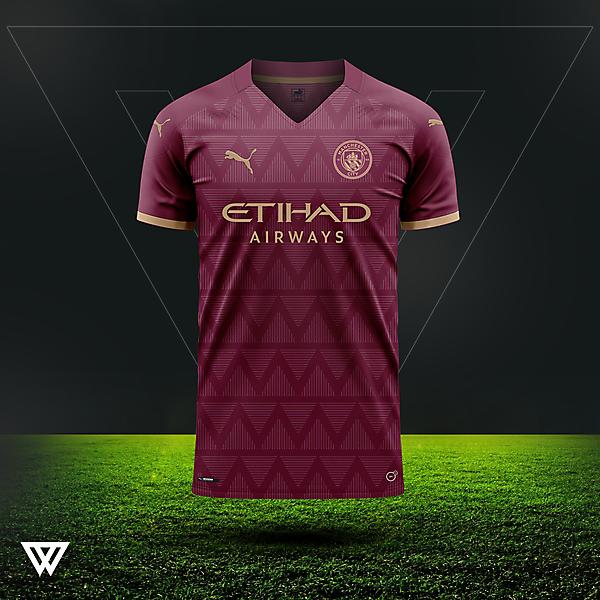 Manchester City away concept