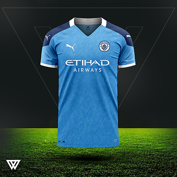 Manchester City home concept