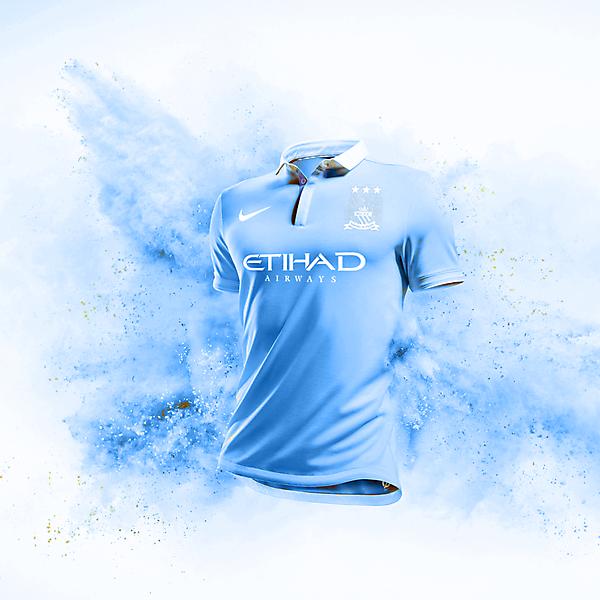 Manchester City Home Kit Design
