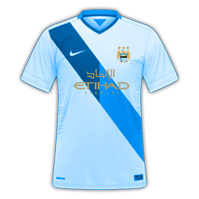 Manchester City Nike Home Concept