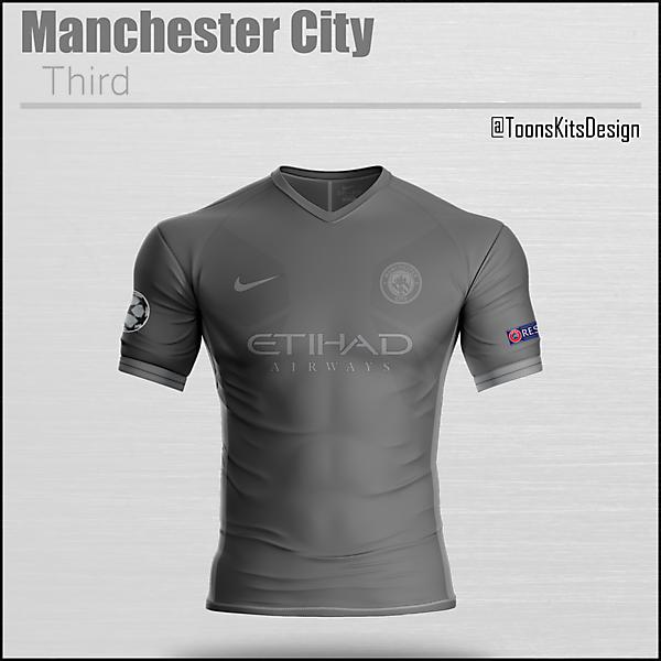 Manchester City Third