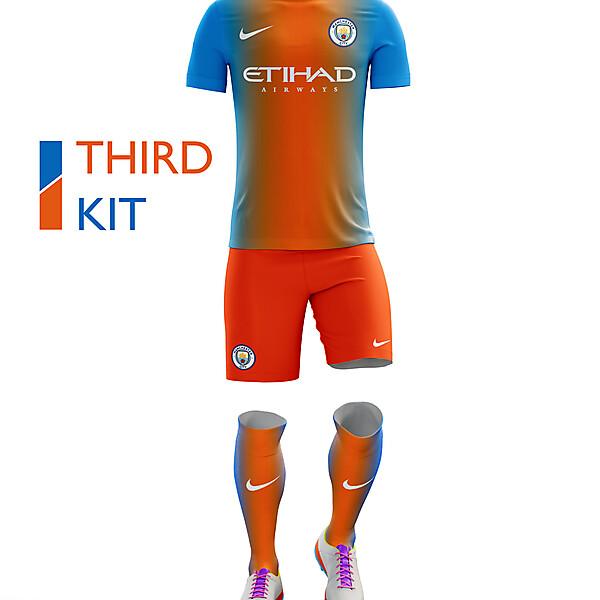 Manchester City Third Kit 16/17
