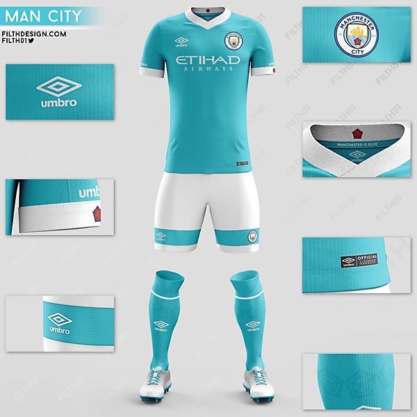 Manchester City x Umbro | Home Kit