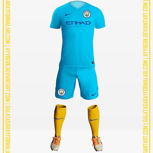 Manchester City x Yellow Socks 16-17