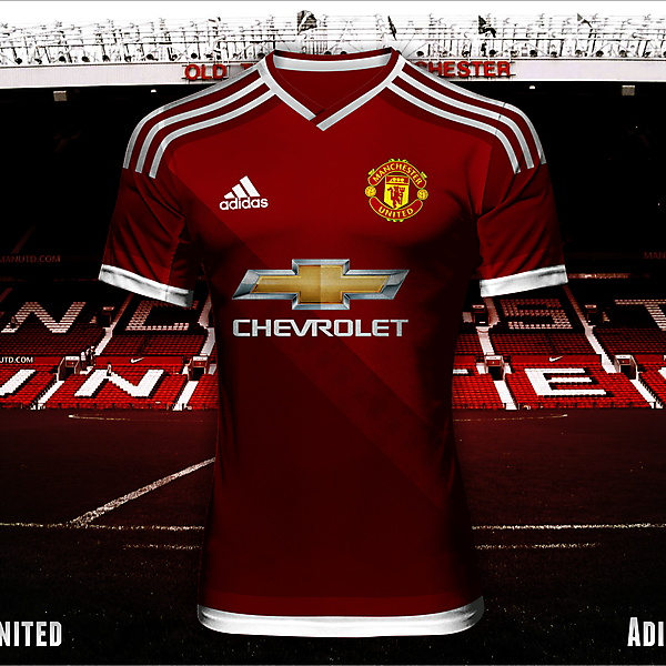 Manchester United - Adidas 2015/2016