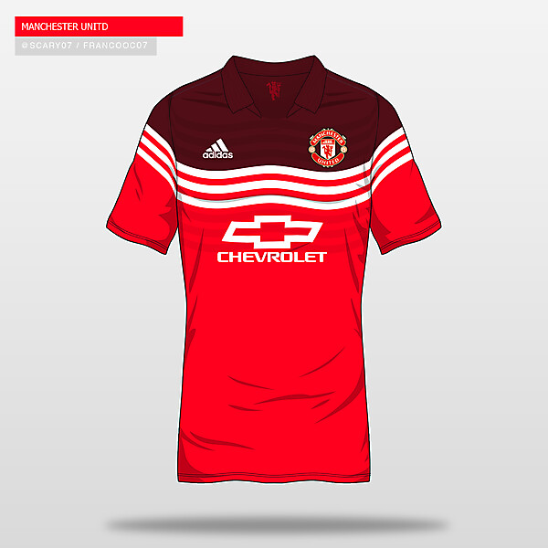 MANCHESTER UNITED - Home16/17 (Concept)