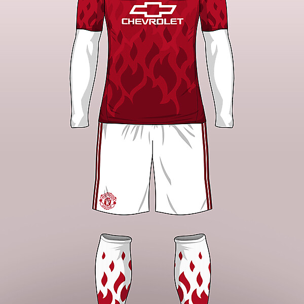Manchester United - Home 16/17 (Concept)