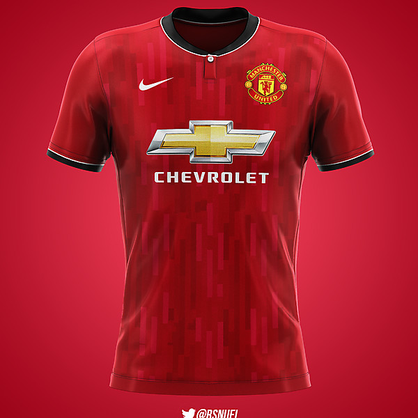 Manchester United - Home Kit Nike Concept