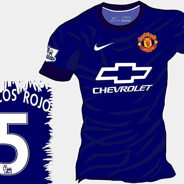 Manchester United 14-15 Away