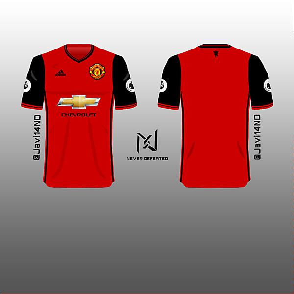 Manchester United 18 19 Home Kit