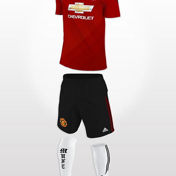 Manchester United 2014/15 Home Kit Concept