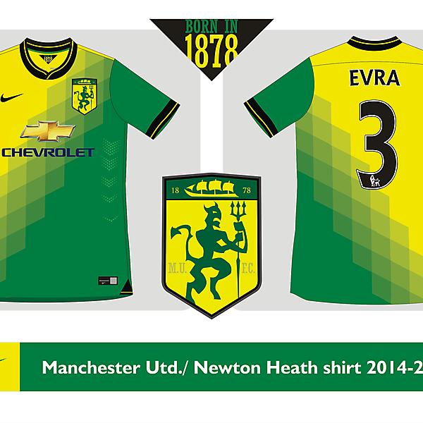 Manchester United / Newton Heath shirt 2014 2015