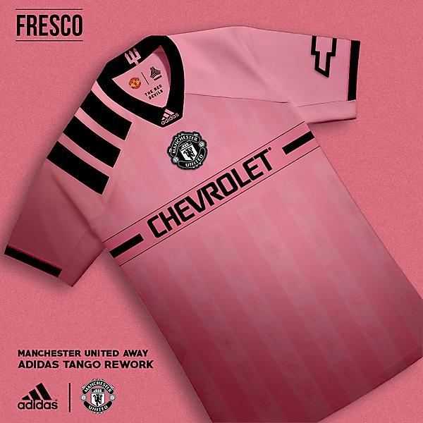 Manchester United Away: Adidas Tango Rework