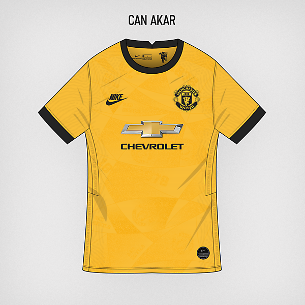 Manchester United Away Kit x Nike