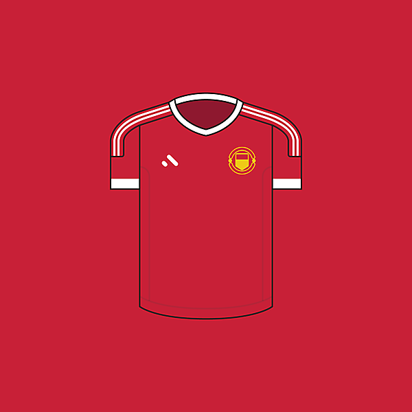 Manchester United FC - Home / Minimalist