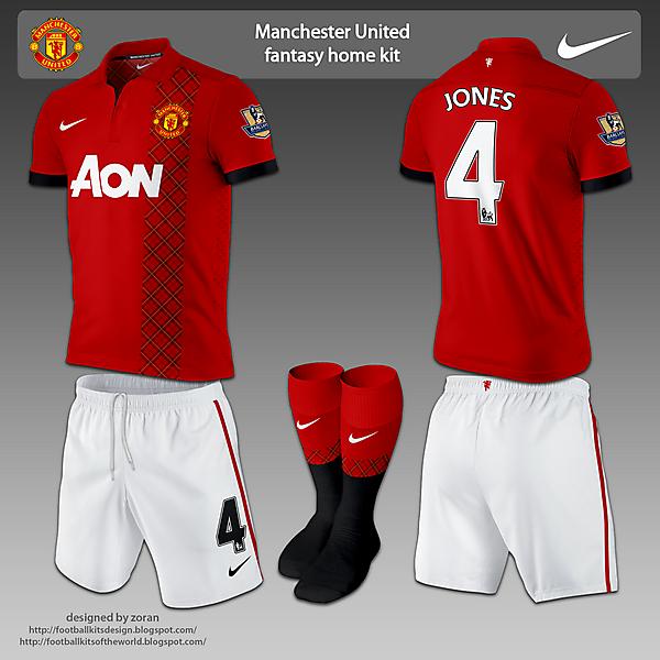 Manchester United fantasy kits