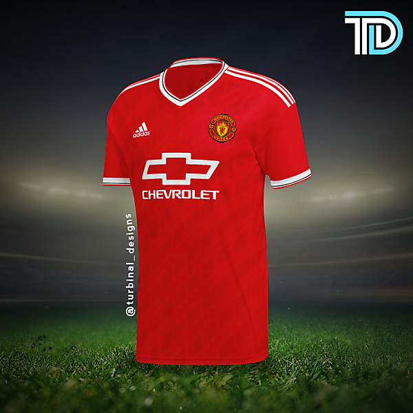 Manchester United Home Kit Concept