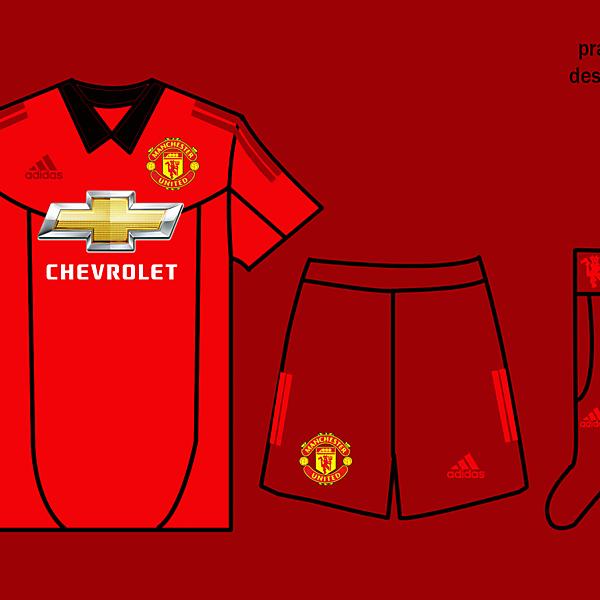Manchester United Kits Home 2017