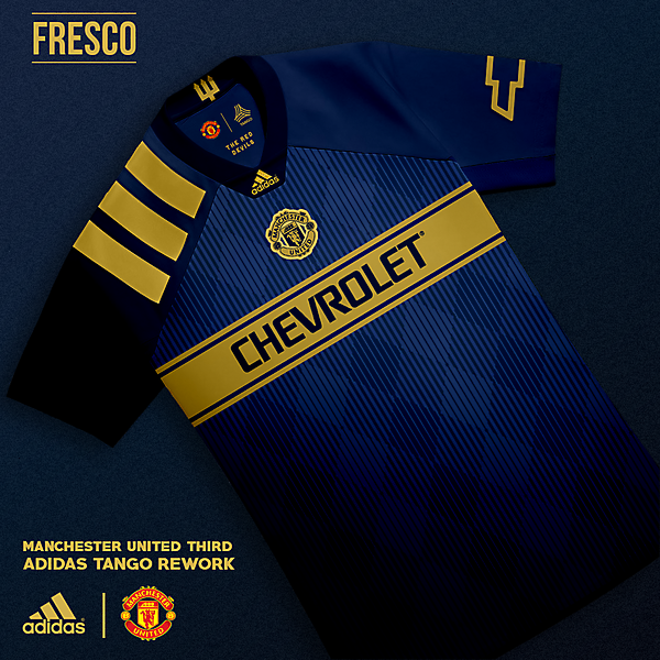 Manchester United Third: Adidas Tango Rework