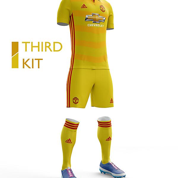 Manchester United Third Kit 16/17