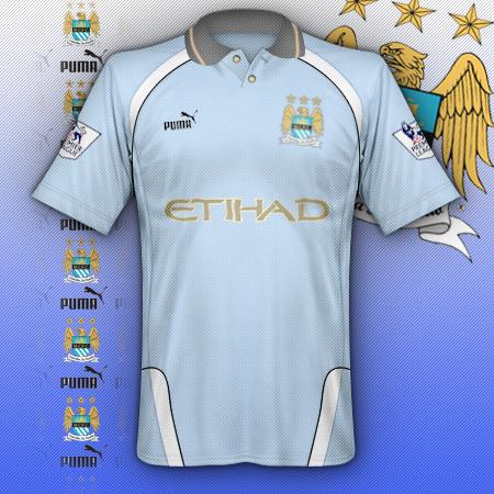 Manchester city puma shirt
