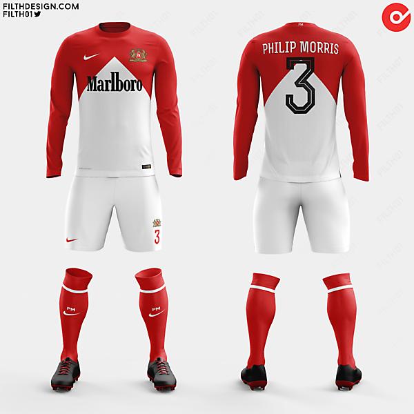 Marlboro x Nike   Home Kit