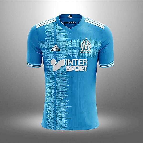 Marseille away concept kit