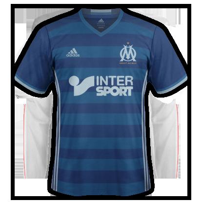 Marseille Away kit