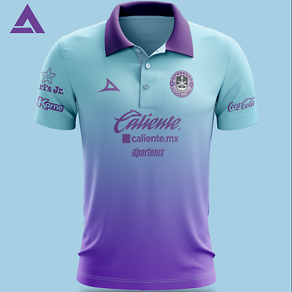 Mazatlan FC  Inaugural Alternate Kit