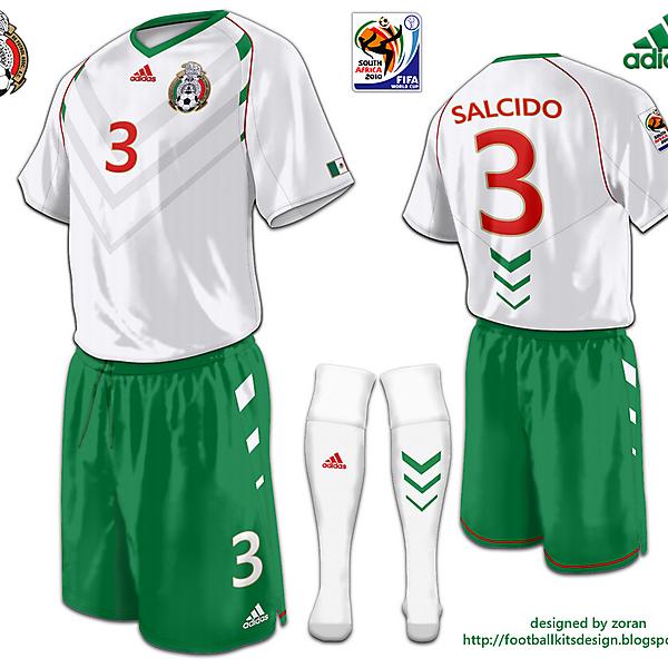 Mexico World Cup 2010 fantasy away