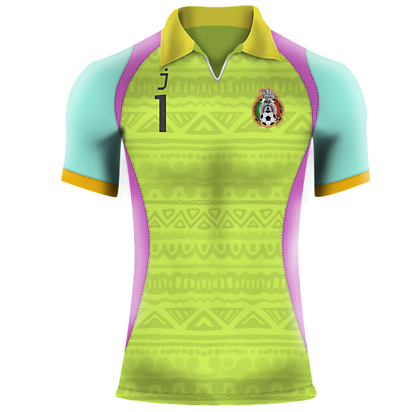 Mexico Goalkeeper jersey by J-sports