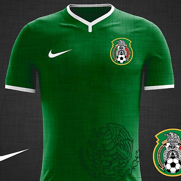 Mexico National Team WC 2018 kit