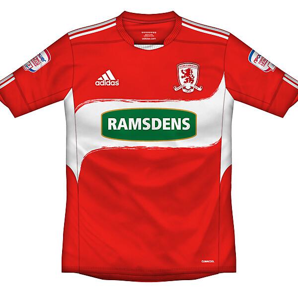 Middlesbrough home shirt