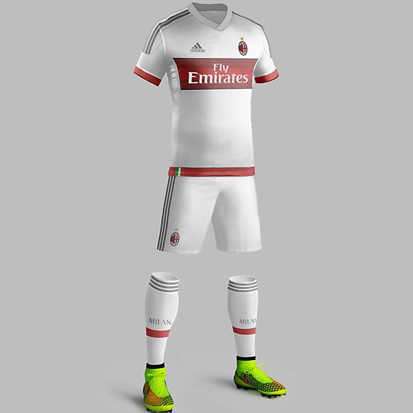 Milan away 2015/16