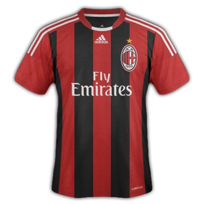 Milan fantasy kits with Adidas