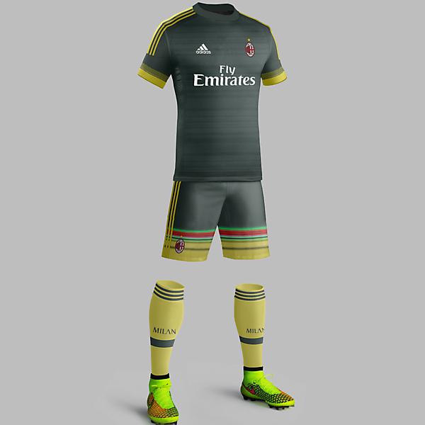Milan third 2015/16