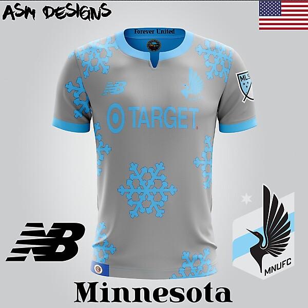 Minnesota United FC New Balance 2018 Home Kit